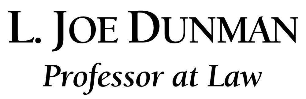 The Federal Gun Rights Floor — L  Joe Dunman, Kentucky Attorney