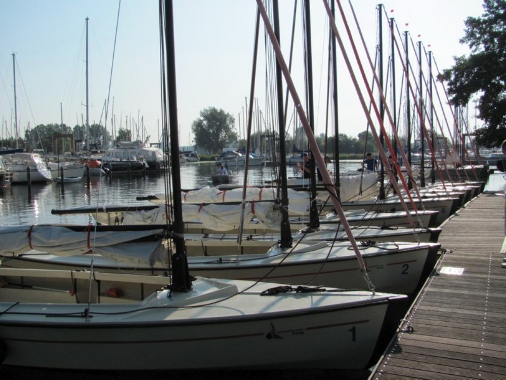 The boats at rest