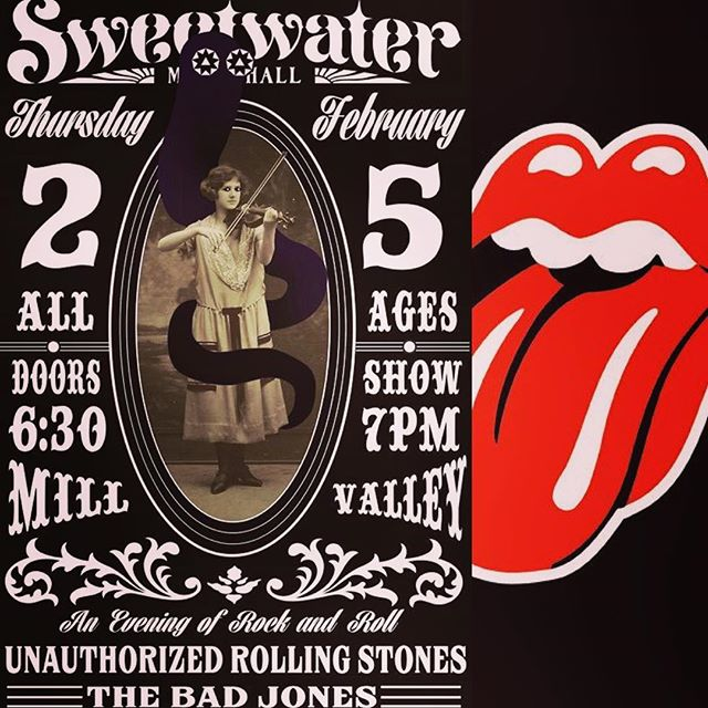 We're back in action! Playing The Sweetwater Music Hall in Mill Valley this Thursday the 25th with Unauthorized Rolling Stones. All Ages. Early 7p show. We've got some new material to start em up!! #thebadjones #unauthorizedrollingstones #sweetwatermusichall #rocknroll #millvalley #marincounty #bayareaevents #therollingstones #rollingstones