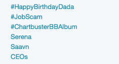 Saavn #Trending!