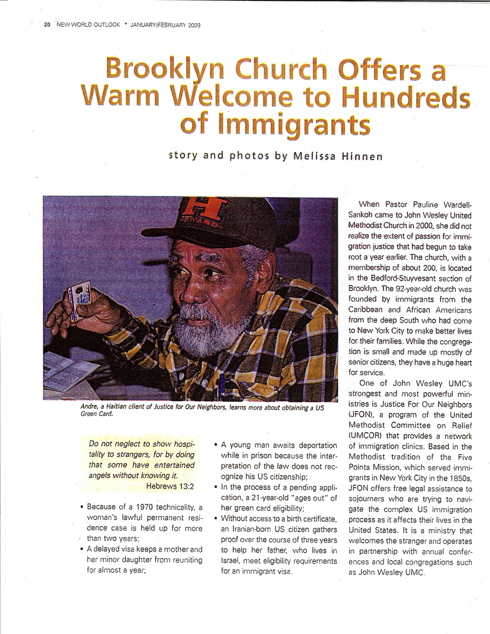 JFON New York Outlook article Feb 09.jpg