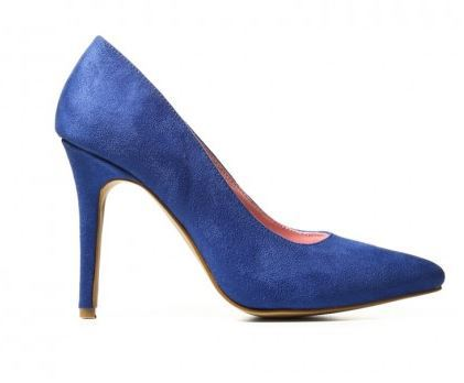 Pointy blue pumps - Catwalk 88.JPG