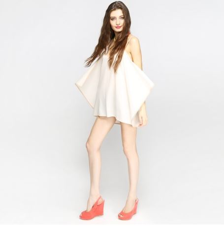 catwalk cream dress.JPG