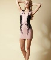 Elliatt Feather flock dress - Blooms Boutique.JPG