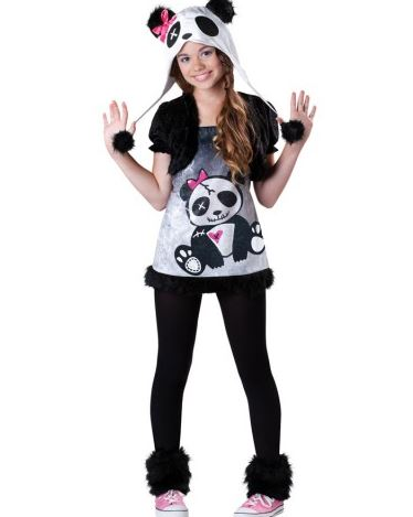 panda teen girl costume at Costumebox.JPG