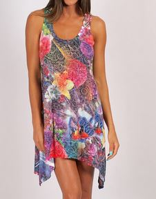 Freez zen garden print dress.JPG