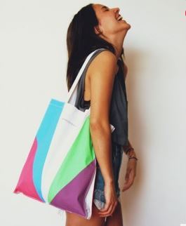 rainbow love tote from Hunting For George.JPG