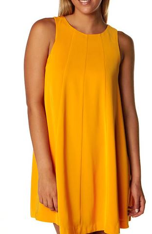 orange keepsake dress at Surf Stitch.JPG