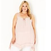 lace trim tunic - Autograph ladies plus size clothing.JPG