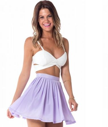 Showpo lilac lollipop skirt.JPG
