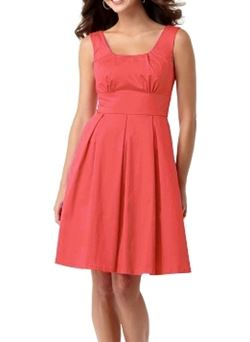 calvin klein ladies coral sundress.JPG