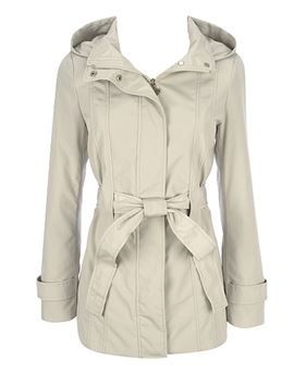 Calvin Klein ladies hooded rain coat.JPG