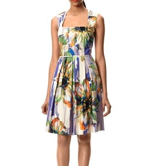 Royal Couture floral belted sundress.JPG