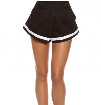 mlm jasper mono shorts in black white.JPG