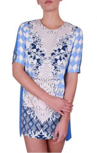 blue pannel print dress.JPG