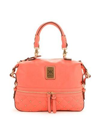 Everme coral kardashian kollection handbag.JPG