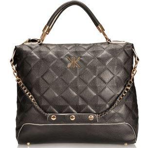 Kardashian Kollection Black quilted bag - Everme.JPG