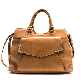 tan leather tote - coco kitten.JPG