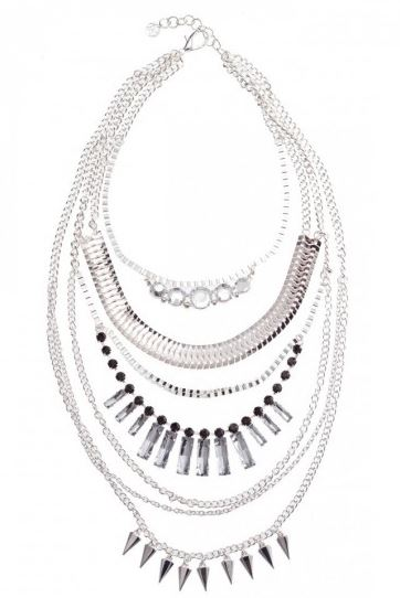 mixed chain multi row necklace colette hayman.JPG