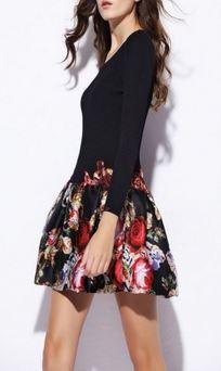 flower print dress at Jessica Buurman.JPG