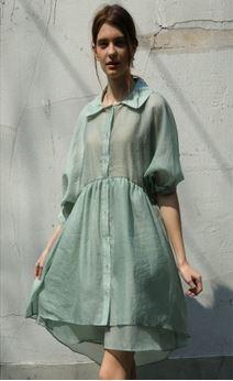 uzma mid sleeves layer dress.JPG