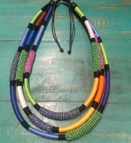 colourful necklace at Jfahri.JPG