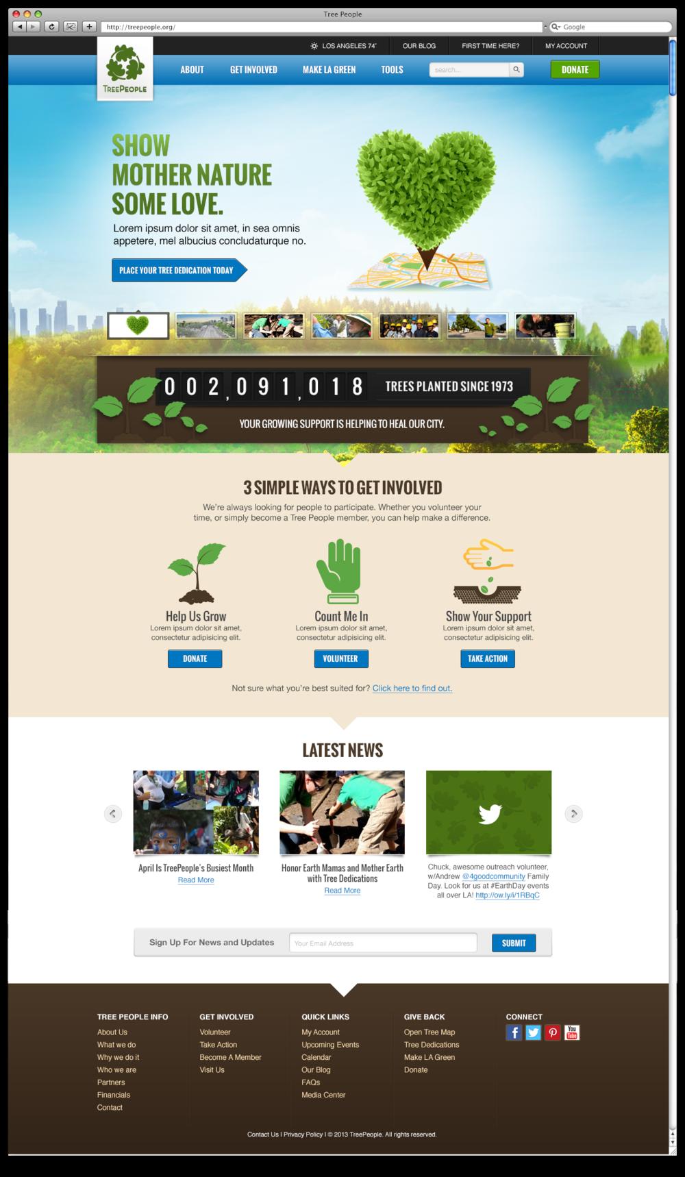 TreePeople Website