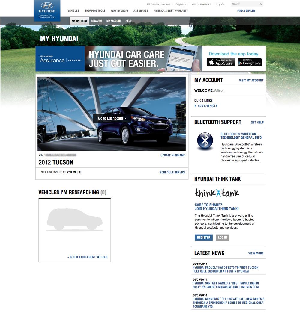 Existing Owner's Website