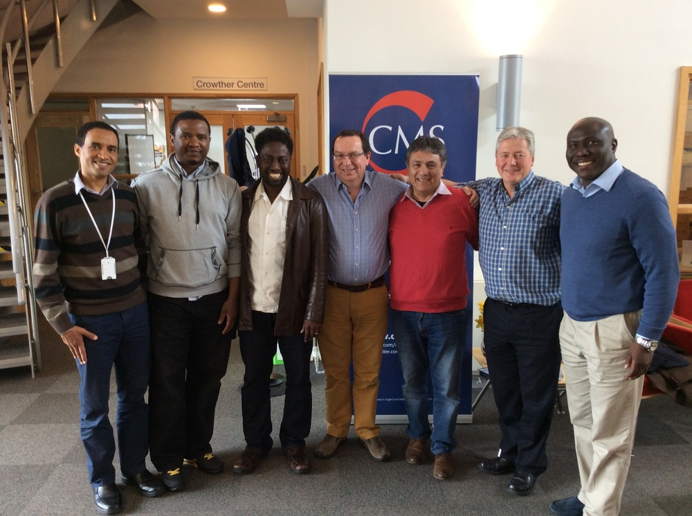 Peter Oyugi (CMMW), Harvey Kwiyani (CMMW), Israel Olofinjana (CMMW), Philip Mounstephen (CMS), Samuel Cueva (CMMW), Paul Thaxter (CMS) and Tayo Arikawe (CMMW).