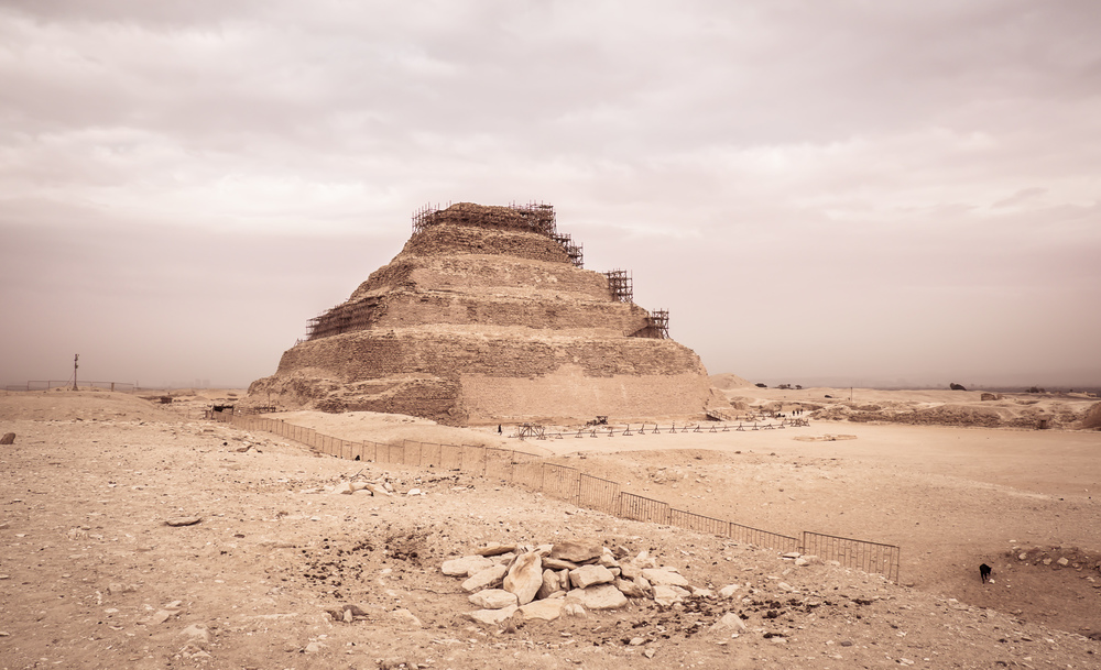 Pyramid of Djoser, Egypt