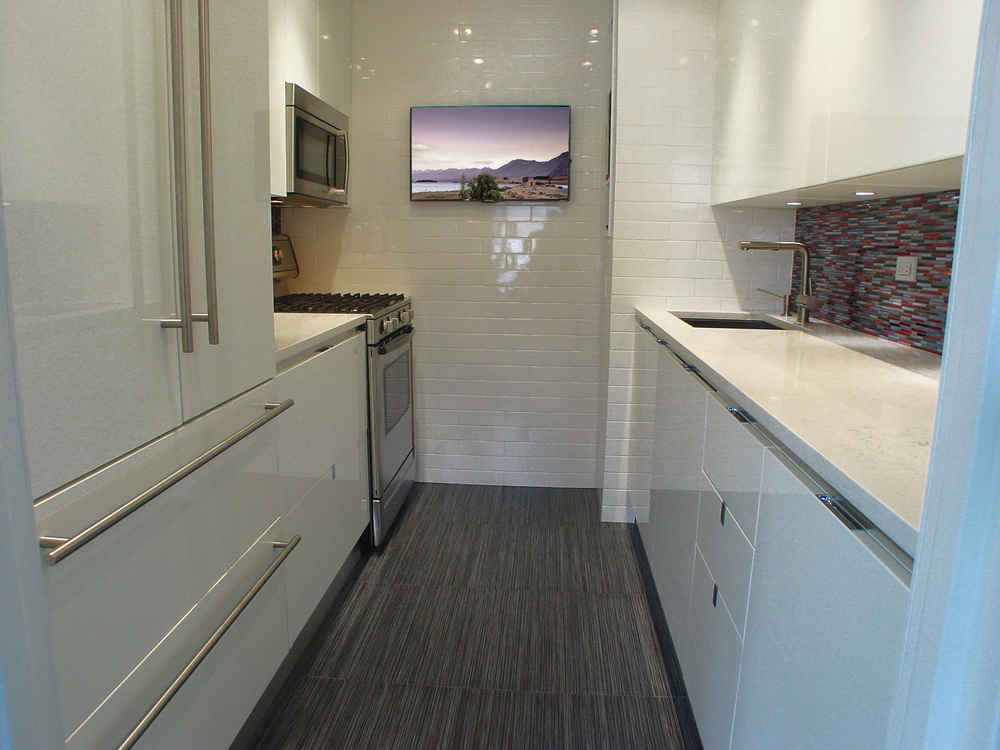 URBAN LUXURY GALLEY KITCHEN