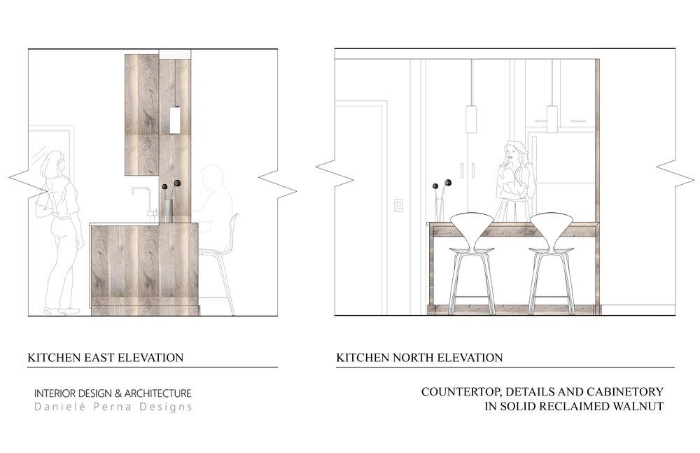 Kitchen Elevation Interior Design
