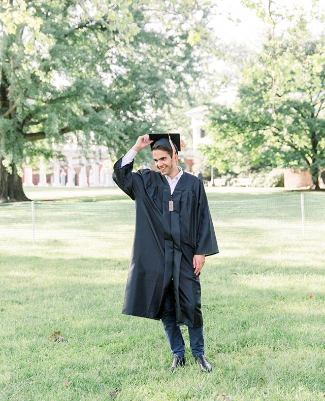 One more (and I can't promise I won't just keep posting photos of Kamran all week). So proud of this guy. |  #universityofvirginia #uva #rotunda #charlottesvilleva #charlottesville #uvagraduation2018 #memorylane #raleighphotographer #charlottesvillephotographer #thelittlethings #architecture #ushistory @uva