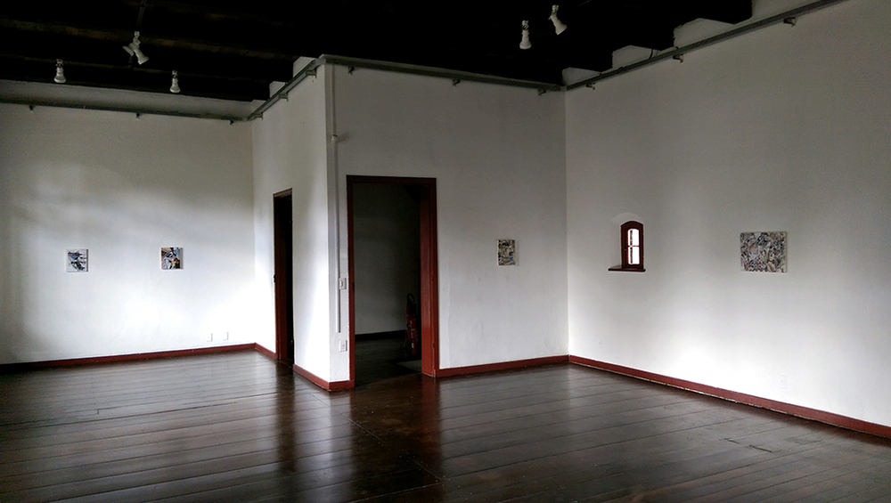 Installed at the Museu de Arte de Joinville, Brazil as part of the exhibition  Back and Forth , on view 2-28 February 2016.