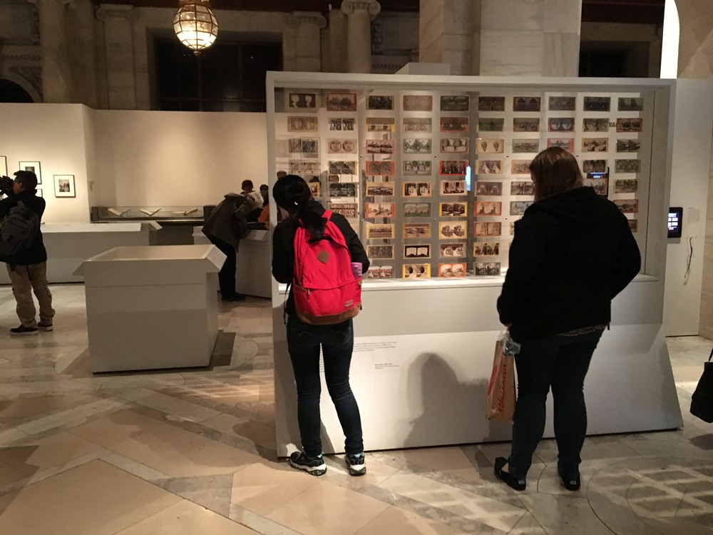 Observation at NYPL Public Eye Exhibition