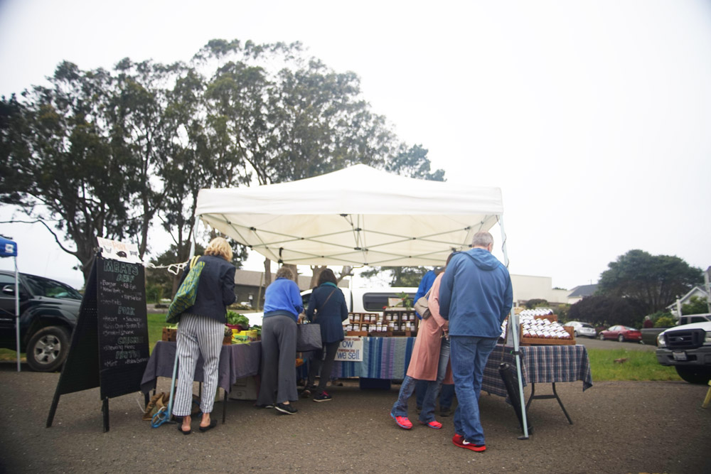 Welcome to the Mendocino Farmer's Market.