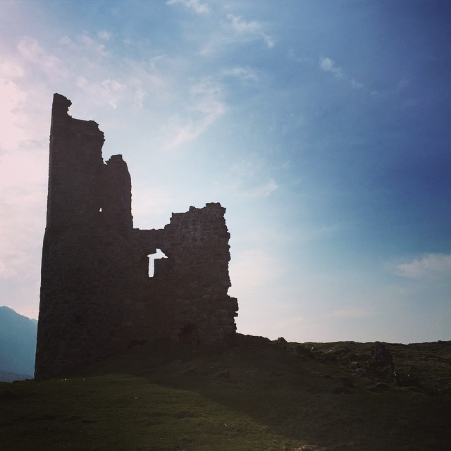 Ardvreck Castle, important site in Cauldron.