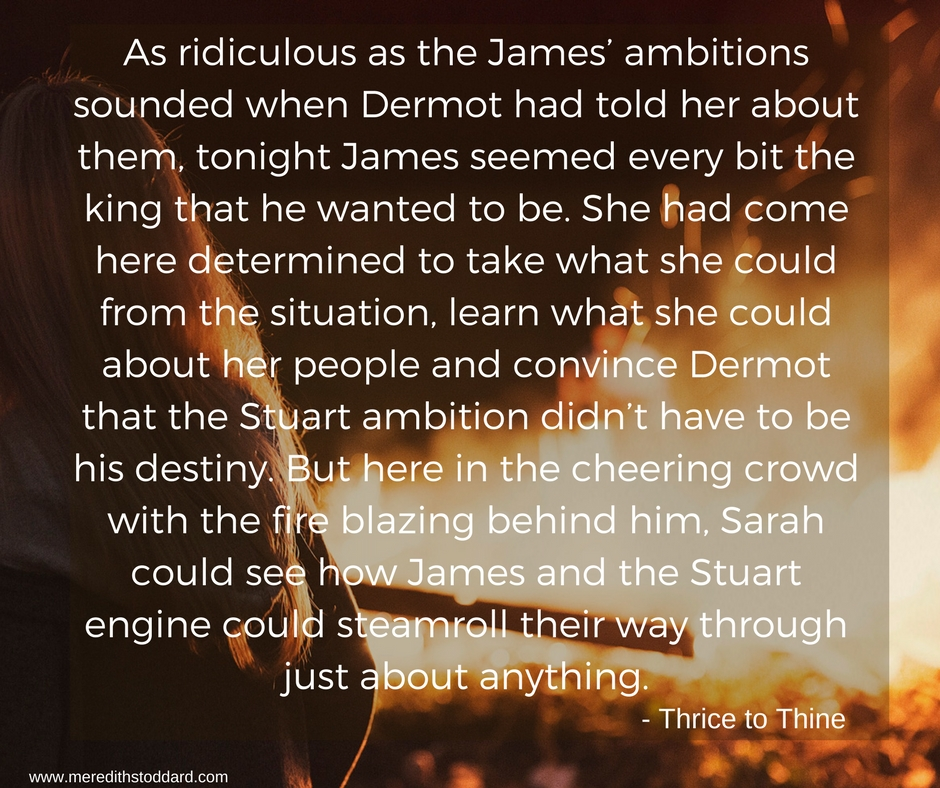 As ridiculous as the James' ambitions sounded when Dermot had told her about them, tonight James seemed every bit the king that he wanted to be. She had come here determined to take what she could from the situation,.jpg