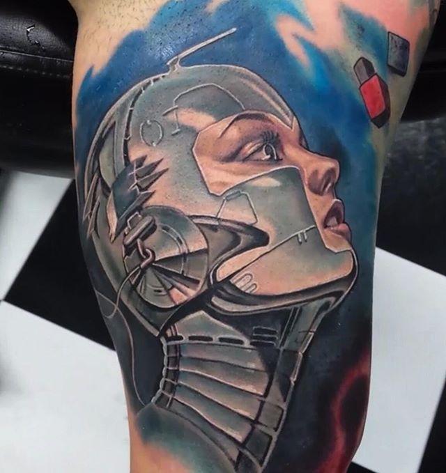 #sorayama #lostartgallerytattoo #tattoo #tattoos #ct #ctink #cttattoo #waterbury #watertown #oakville #cttattoos #cttattooshop #ctink #waterburytattoo #skinartmag #skinartmagazine #inkedmag #inkedmagazine #tattooartistmagazine #superbtattoo #crazzytattoos #tattoosnob #bnginksociety #thebesttattooartists #art #realistictattoo #blackandgrey #ernestonave #ernestonavetattoose #electrumstencilprimer