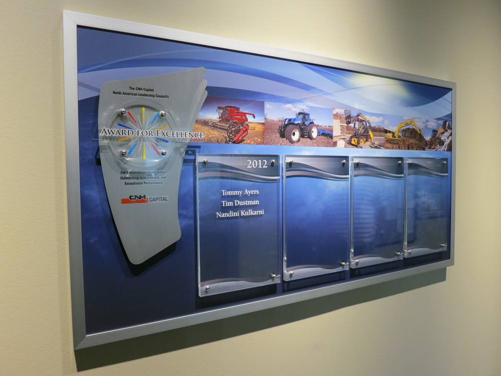 CNH Capital Recognition Wall