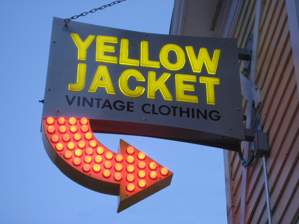 Yellow Jacket Vintage Clothing Store