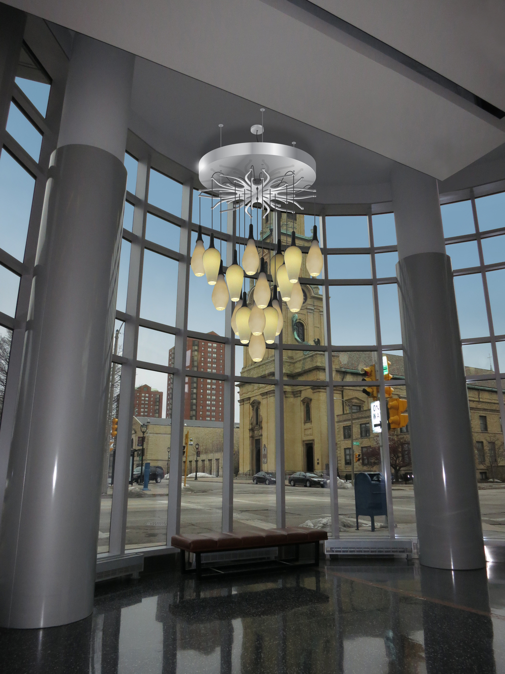 Cathedral Tower Lobby