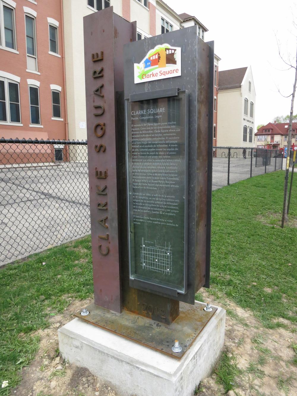 Clark Square Monuments
