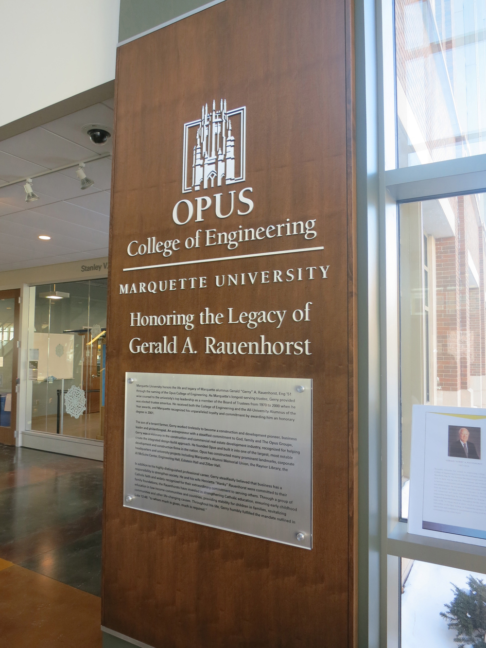 Marquette University Opus College of Engineering