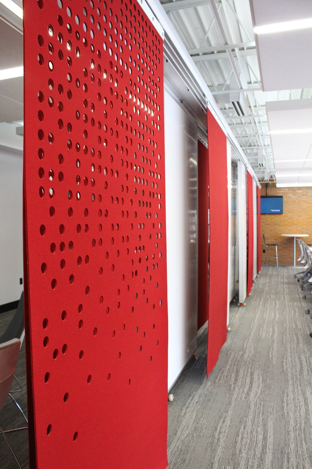 Red Arrow Room Divider Panel System