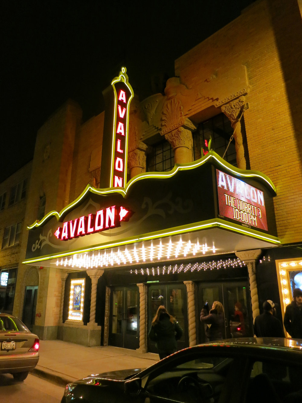 Avalon Theater Marquee