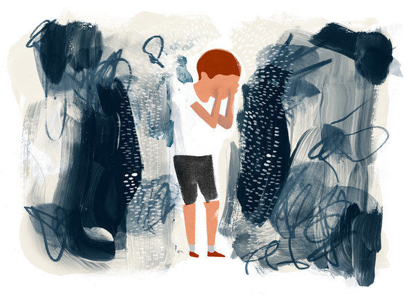 From Paul Tough's excellent Fixes column,  Protecting Children from Toxic Stres s, Artwork by Keith Negley