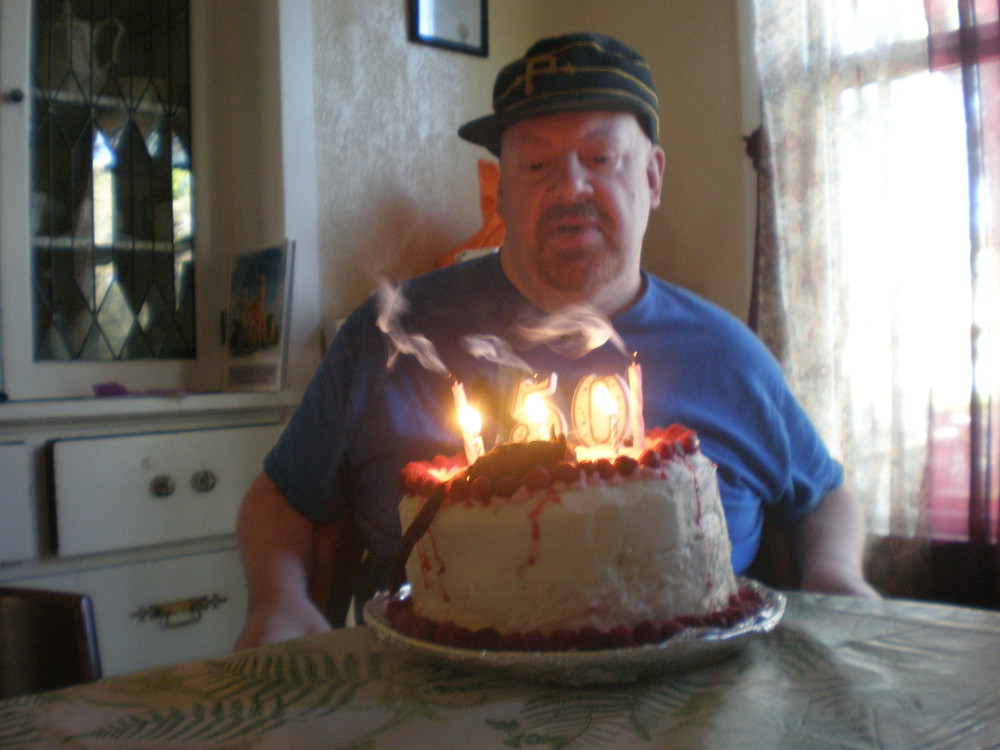 Core member, Lance celebrating his birthday.