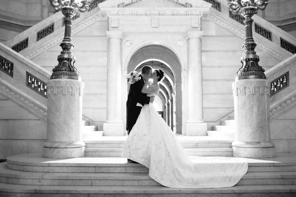 wilkes barre courthouse wedding photos genetti