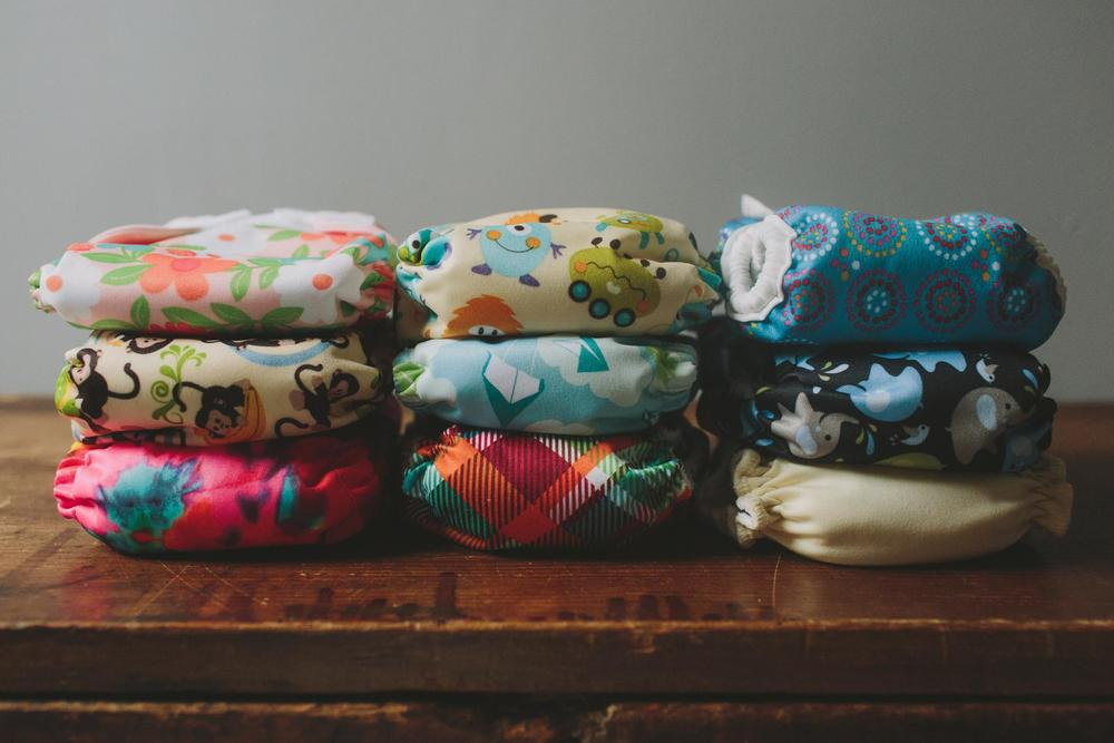 Building A Newborn Cloth Diaper Stash